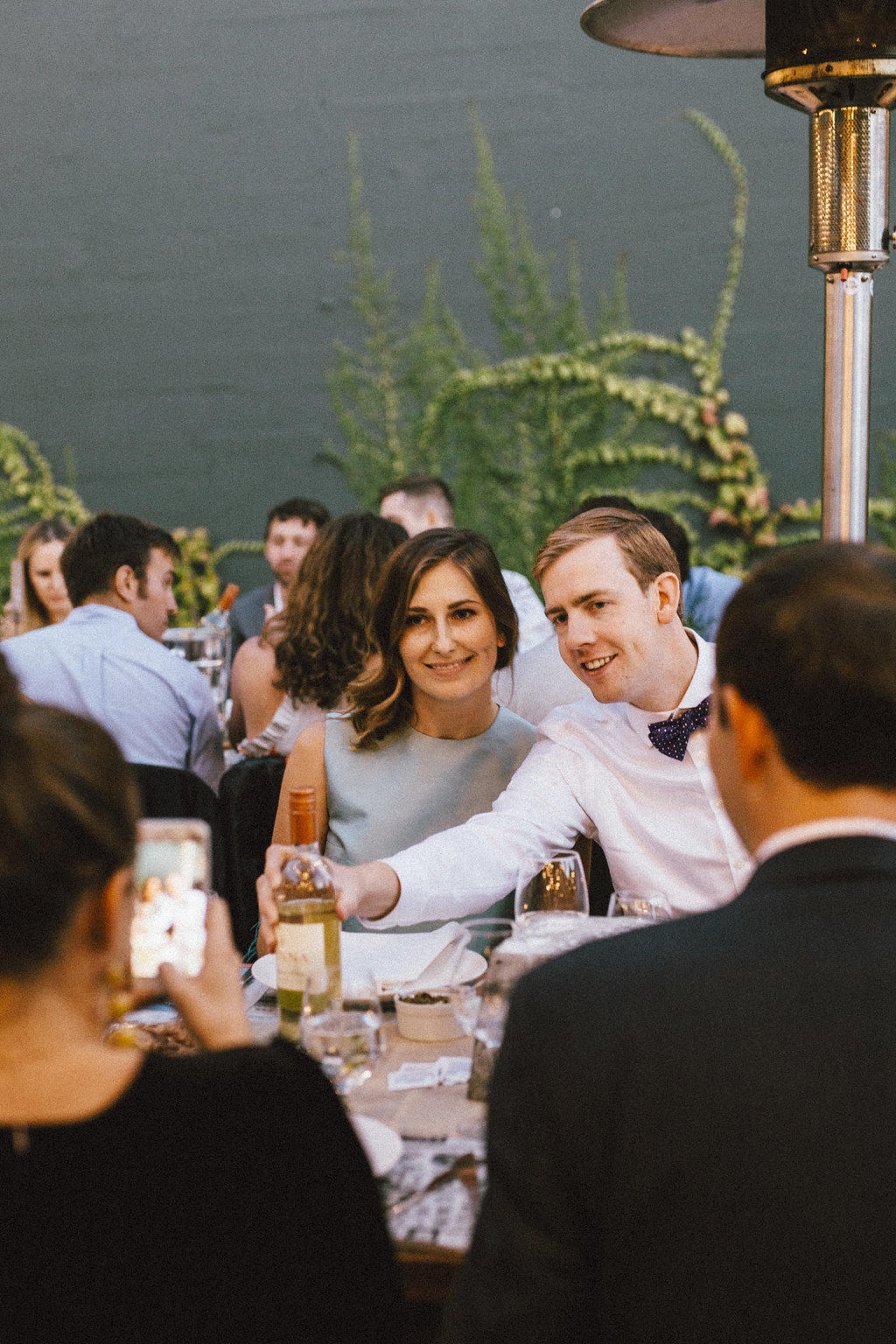 Sam Loves Emily:  Vessel Gallery and Forage Kitchen Urban Garden Wedding