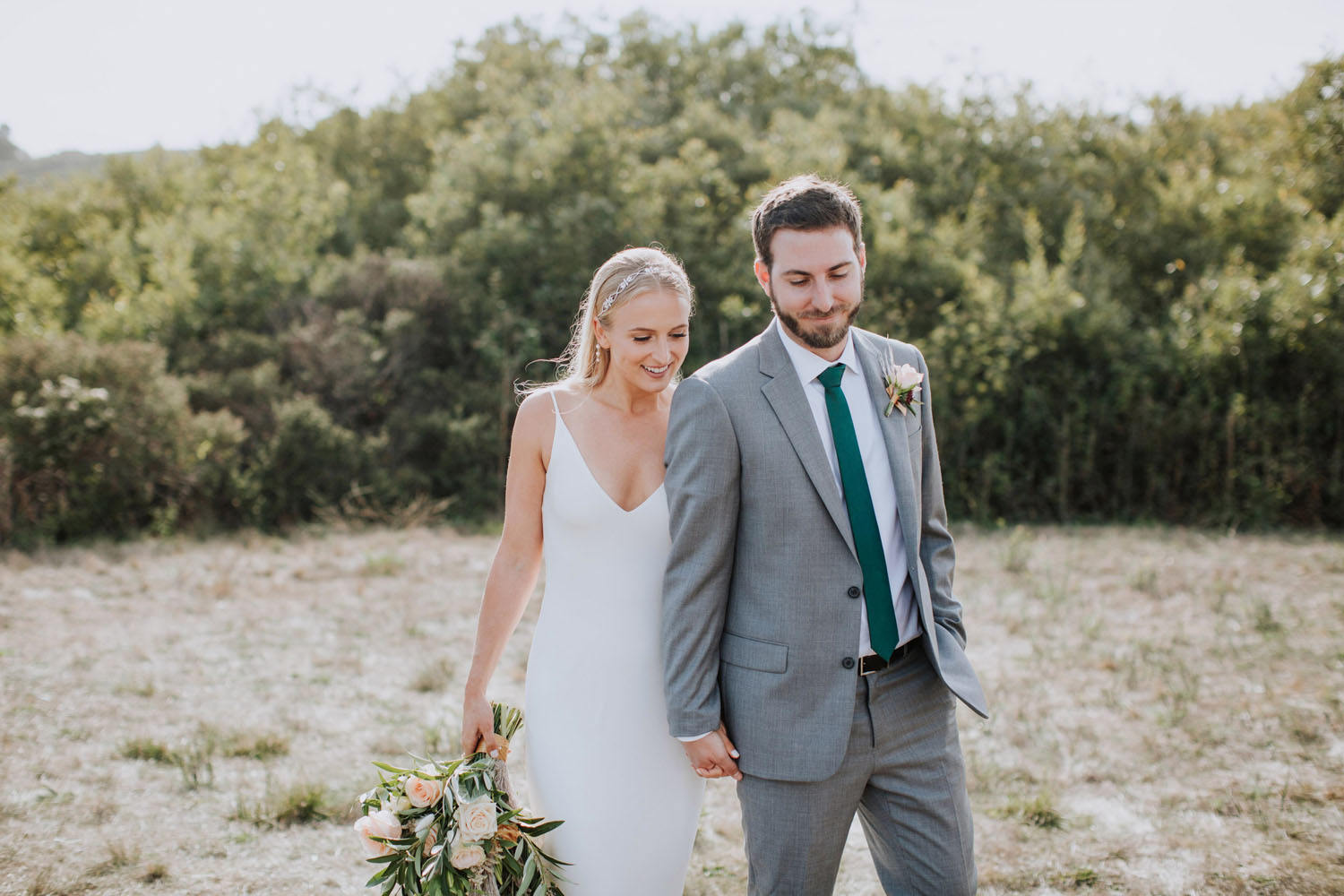Romantic Nature Inspired Wedding at Headlands Center for the Arts