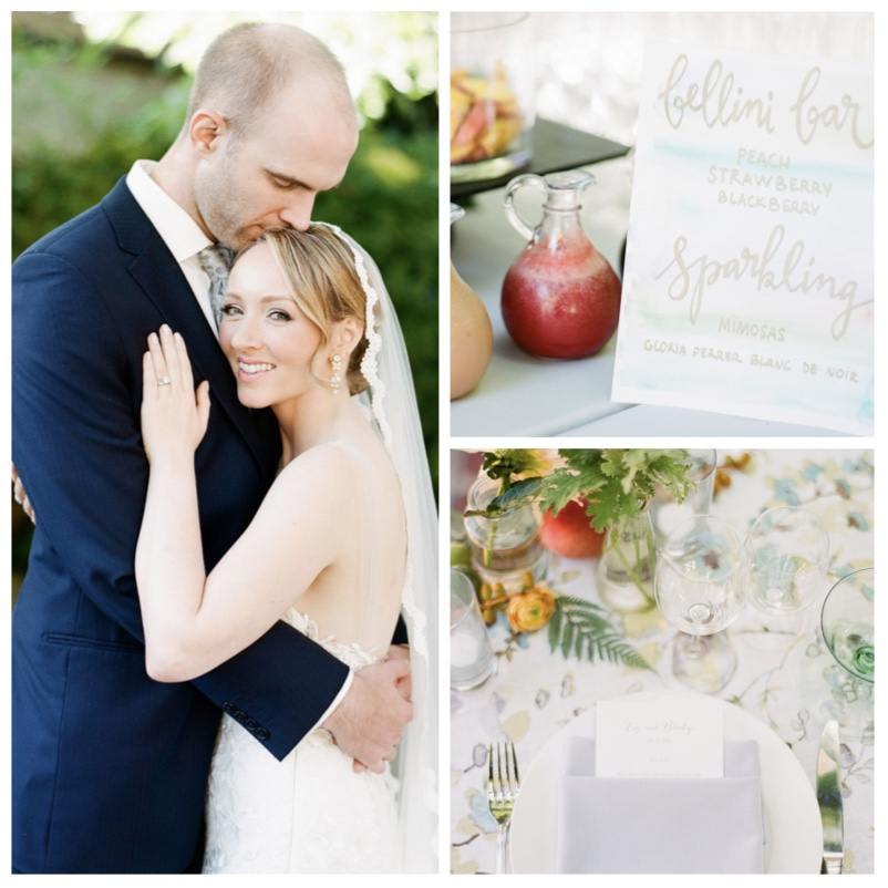 Relaxed Cali Garden Wedding with Pretty Floral Motifs