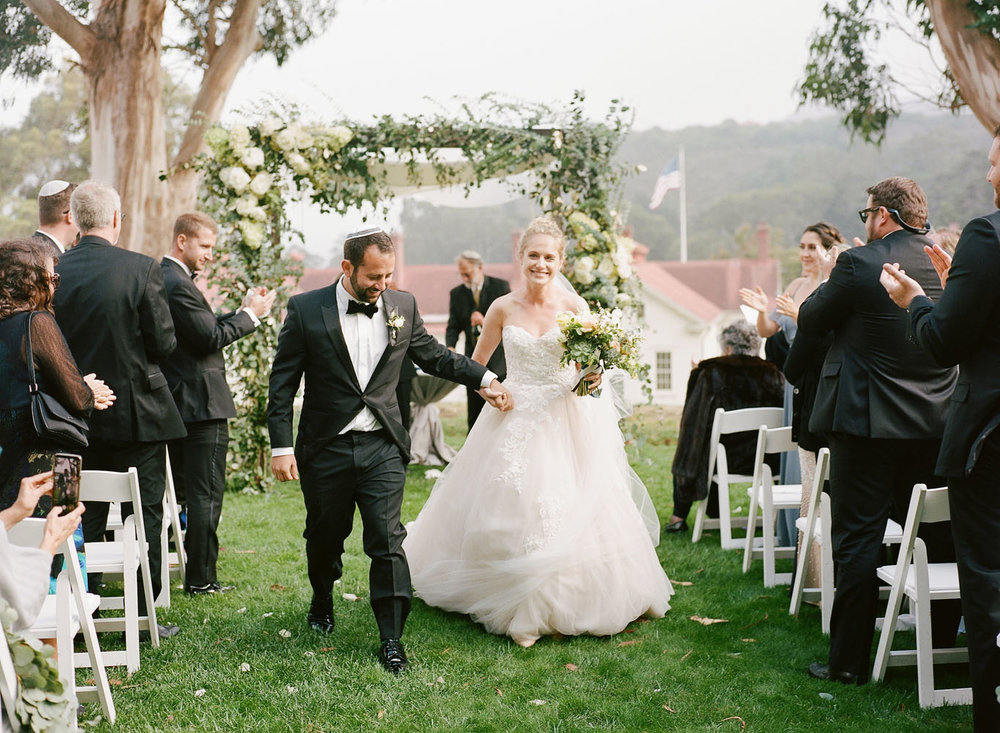 Lush Greenery Filled Wedding at Cavallo Point