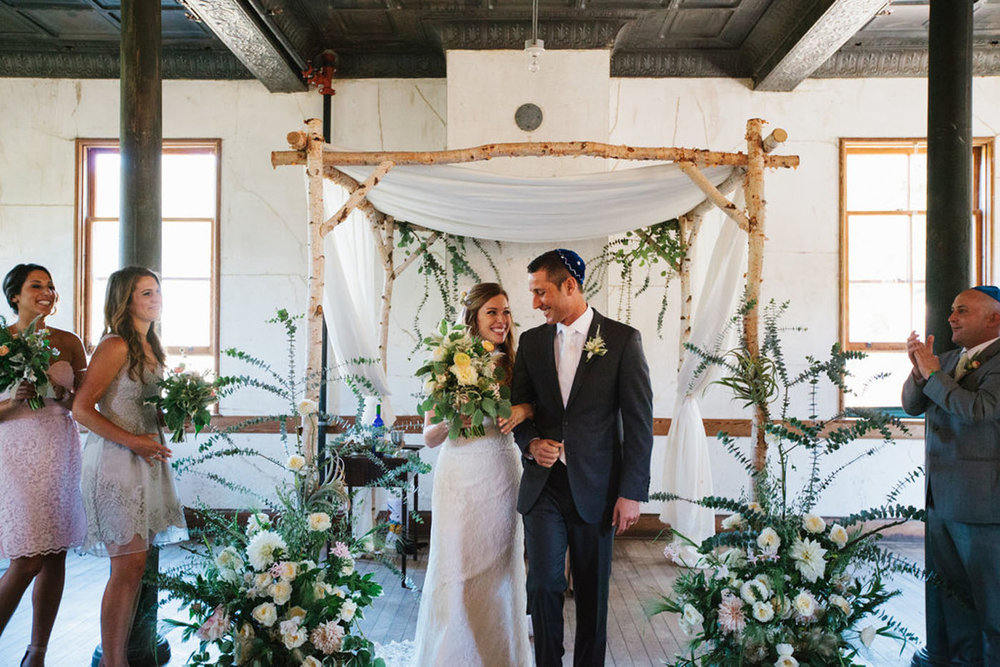 School Inspired Wedding for Teachers at Headlands Center for the Arts