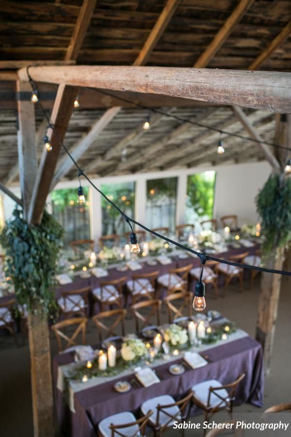 Dreamy Intimate Barn Wedding