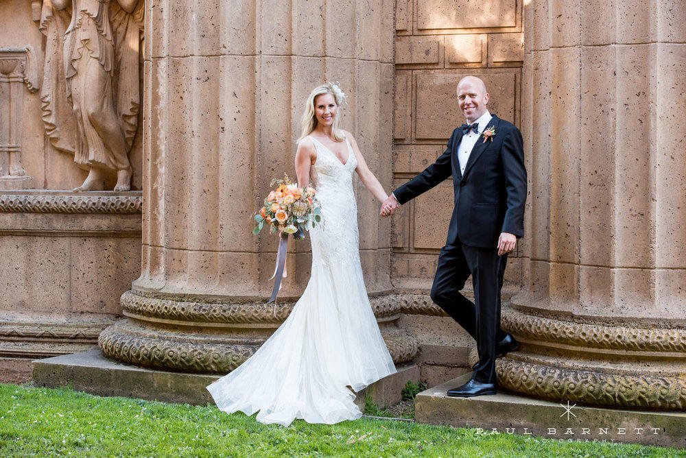 Palace of Fine Arts, San Francisco Wedding