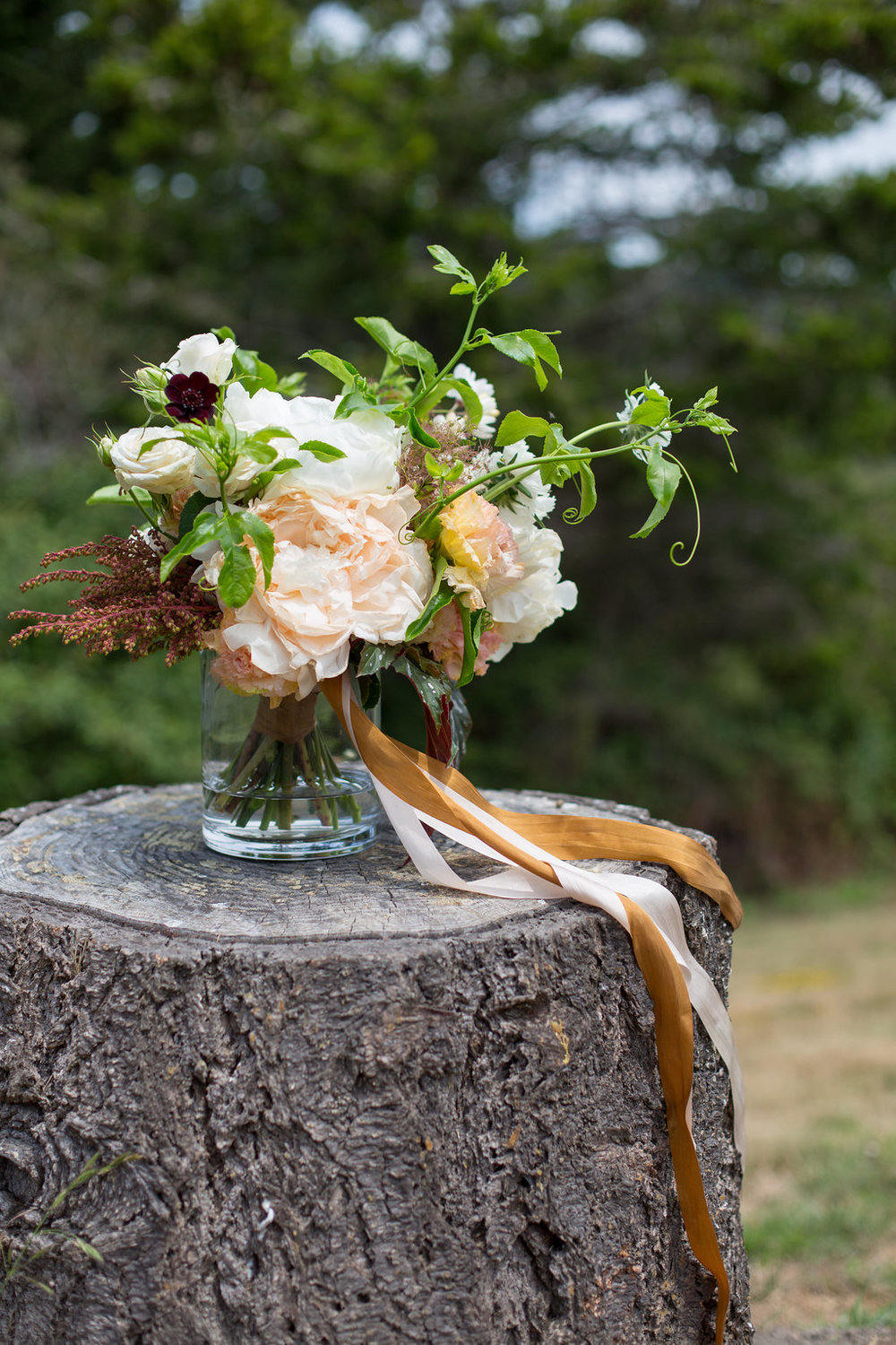 Costanoa Artsy Seaside Resort DIY Wedding