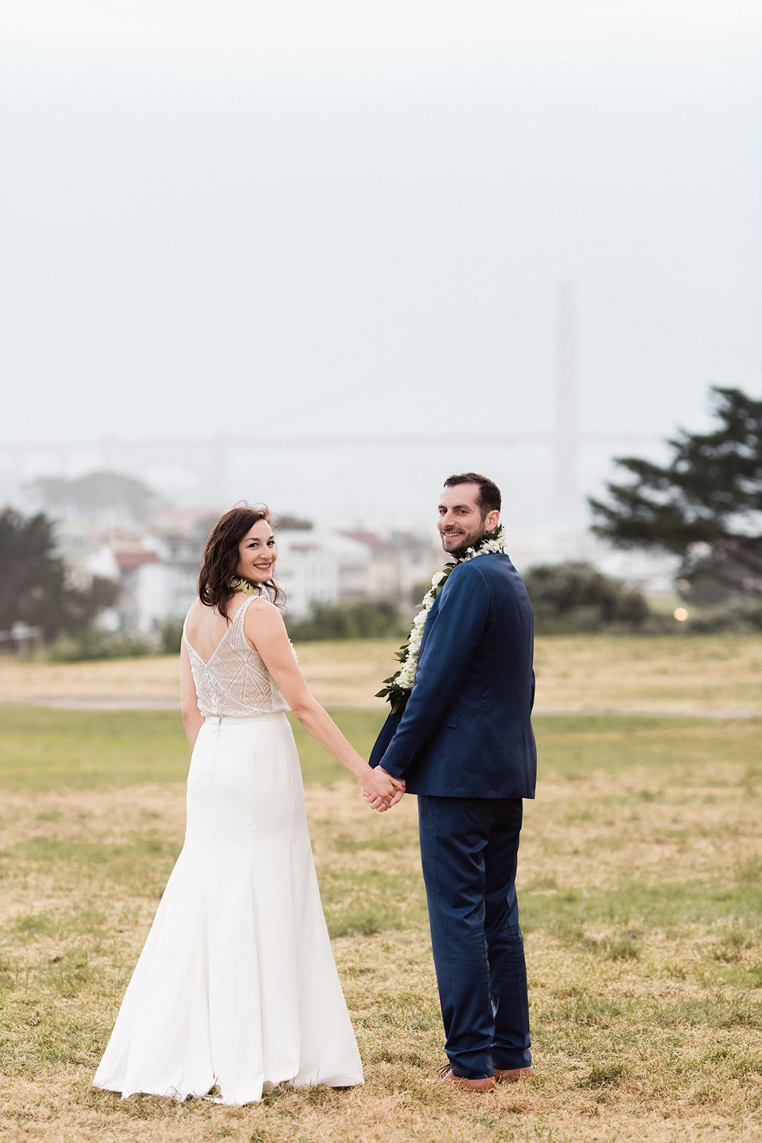 Classic Green Wedding at Fort Mason General's Residence
