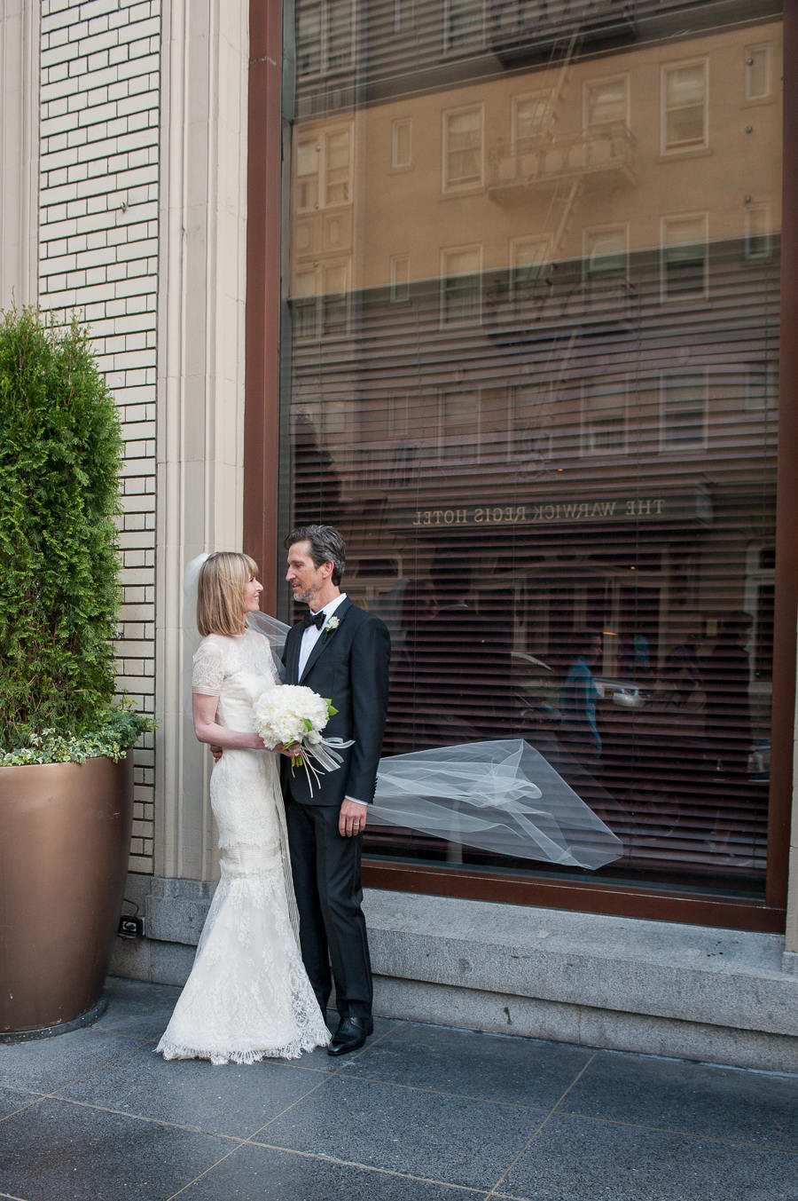 Modern White Wedding at the Clift Hotel