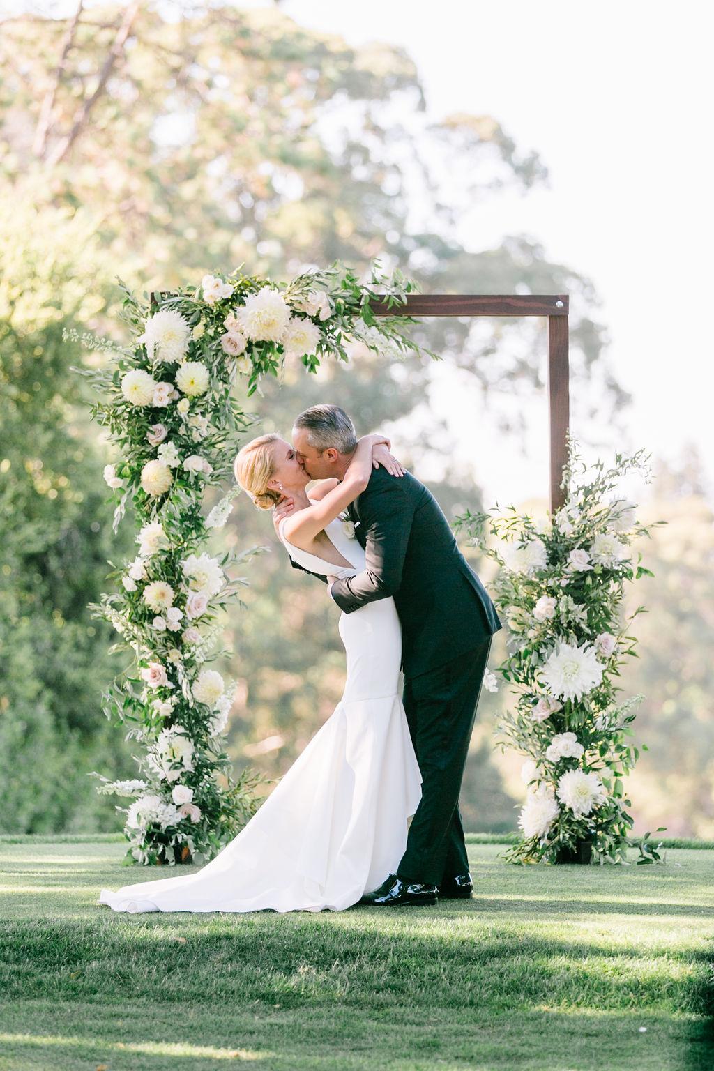 Tented Greenery Filled Hillsborough Wedding