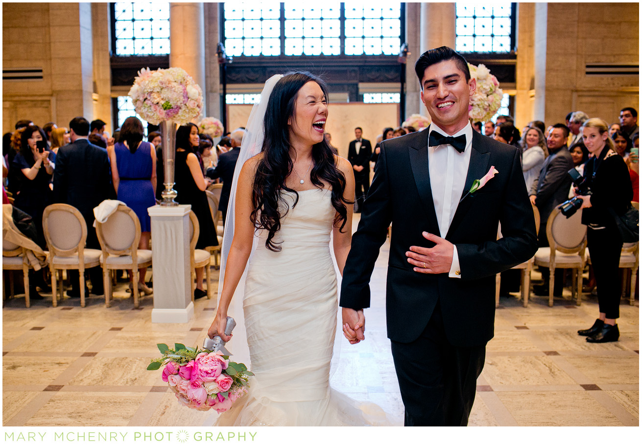 Formal San Francisco Wedding at Asian Art Museum