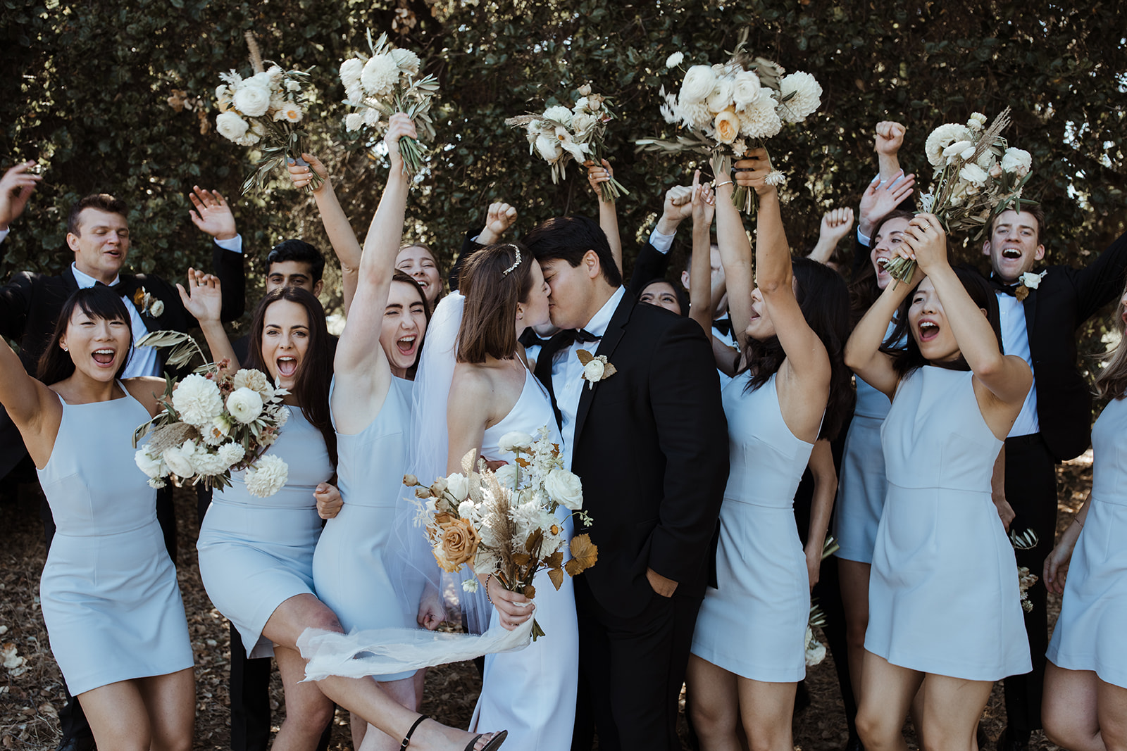 Modern Garden Wedding at MacArthur Park