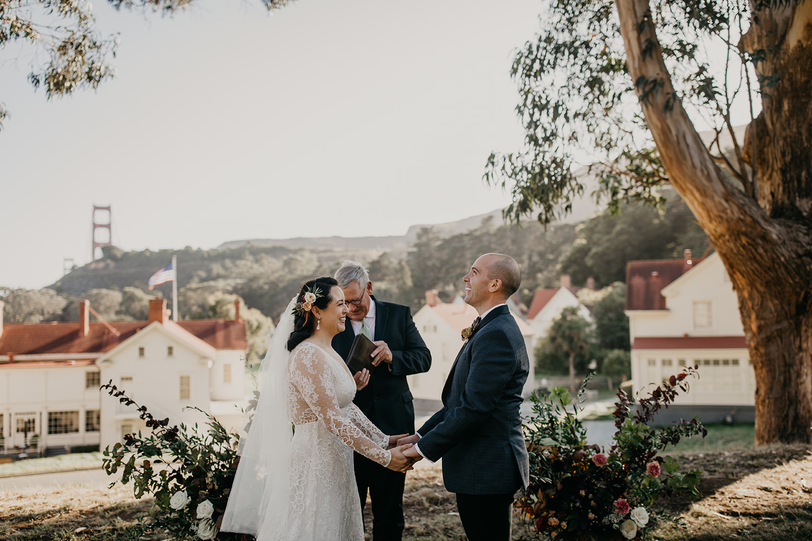 Intimate Dinner Party Wedding at Cavallo Point