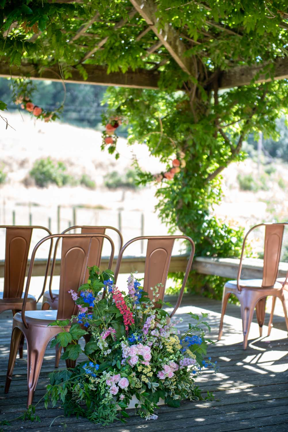 Colorful Wine Country Editorial at Rosewood Events