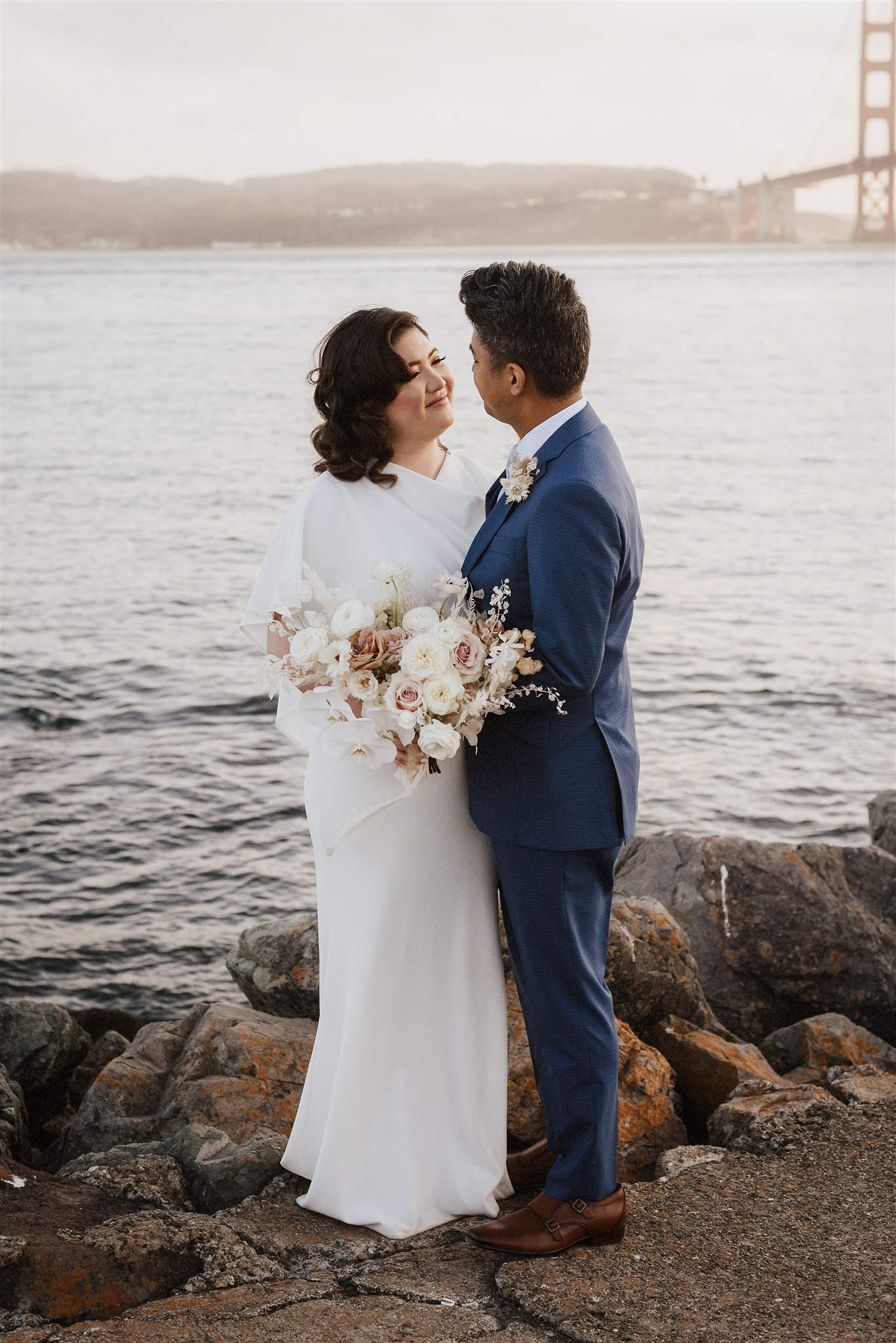 Cavallo Point Micro Wedding with Maximum Style